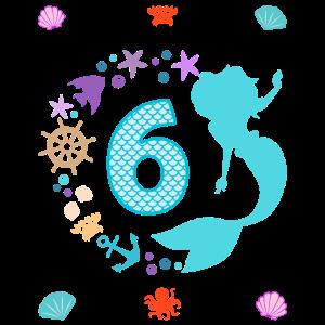6. Geburtstag Meerjungfrau Krebs