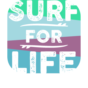 Surfen Surfer Surf for life