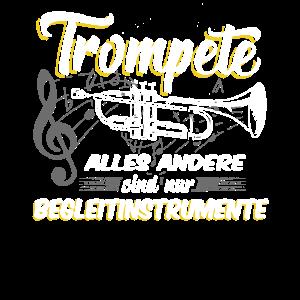 Trompete Blaskapelle Musikverein Spruch Geschenk