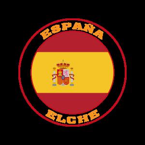Elche Spanien Flagge Elche España