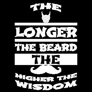 beard - The longer the beard the higher the wisdom