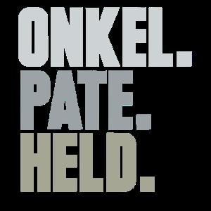 Onkel Pate Held Patenonkel lustig Taufpate