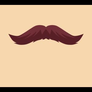 Face Man Männlicher Gesichtsschnurrbart Männlicher Stil 1