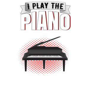 Klavier Pianist Geschenk