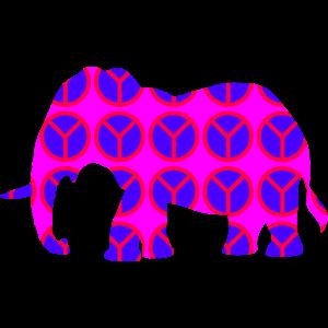 Elefant des Friedens