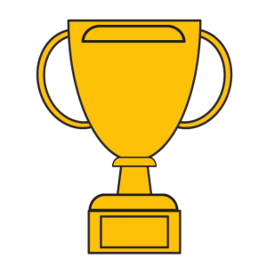 Pokal zum Namen eintragen