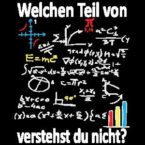 Mathematik Lehrer Welchen Teil von Mathe