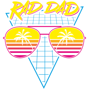 Rad Papa Synthwave Retro 80s Synthesizer Musik