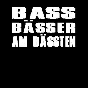 Bass bässer am bässten - Musik - Geschenk