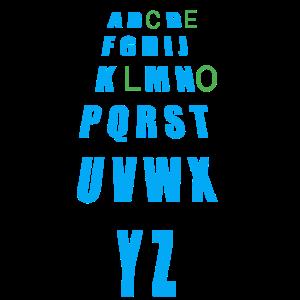 Cooles Alphabet