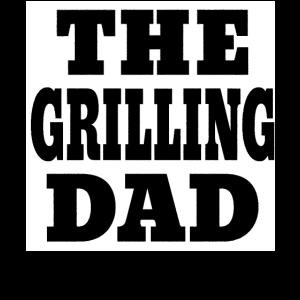 Grillen Grill BBQ Vater Papa lustig Geschenk