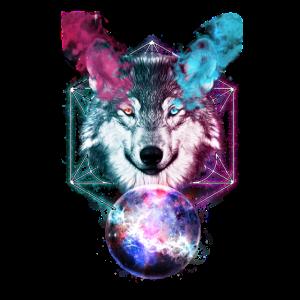 Magischer Wolf