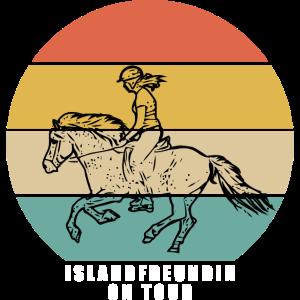 Islandfreundin on Tour - Isländer Reiterin