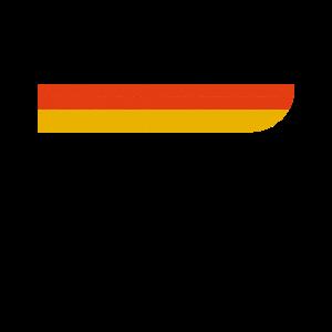 Deutschland Retro Flagge Deutschlandfahne Shirt