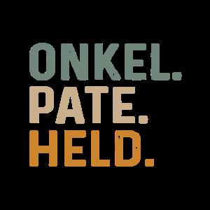 Onkel Pate Held Geschenk für Patenonkel