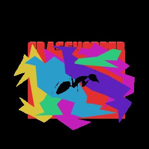 Grasshopper Farbiges Mosaik Puzzle