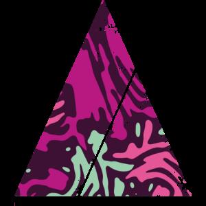 Tarnmuster Dreieck mit Querstreifen