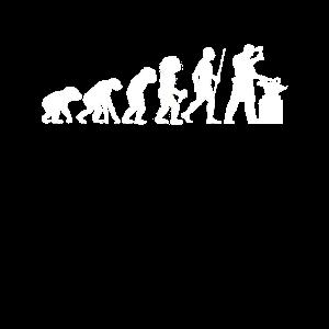 Evolution Schmied Mittelalter Amboss