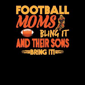 Football Mutter Sohn sport Spielfeld shirt design