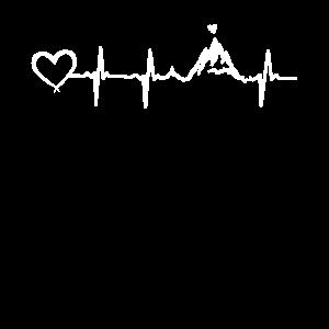 Bergpuls mit Herz vom Hoamatstore.at