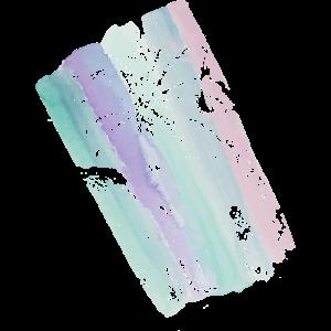 Palme auf Pastellfarben