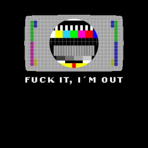 Testbild 80er 90er Fuck it Nostalgie