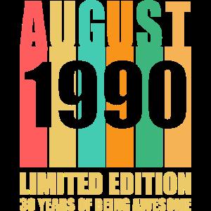 August 1990 30 Jahre großartig