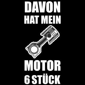 6Zylinder Auto Motor