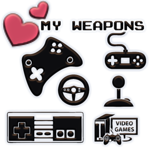 Meine Gaming Waffen - My Gaming Weapons