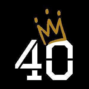 40 Krone - 40. Geburtstag
