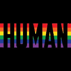 Human Gay Transgender Rainbow