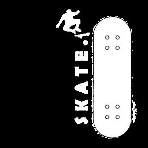 SKATE - JUMP - WEISS