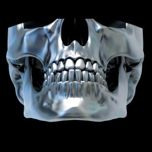 Maske edler Totenkopf