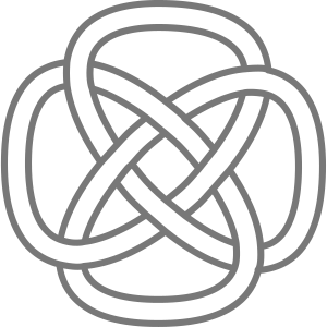 ancient celtic knot drawing printdesign
