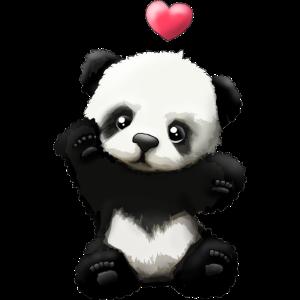 Süsser Pandabär