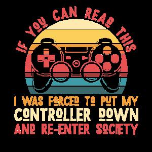 Gamer Kontroller Vintage