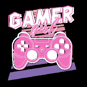 Gamer Girl Retro