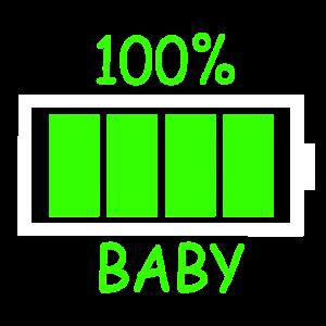 Baby Akku 100%