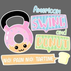 Donut american swing