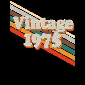 Retro Vintage 1975