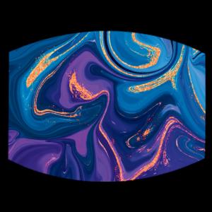 Künstlerisches Bild mit gemischten Farben
