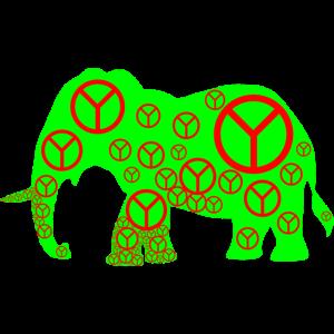 Elefant Peace Gschenkidee