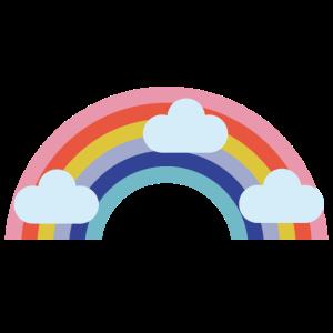 regenbogenwolke