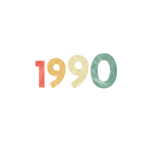 Vintage Birthday 1990