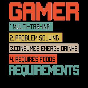 Spieleranforderungen