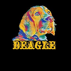 Beagle Retro puppy