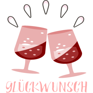 Glueckwunsch Gratulation Anstossen FEIERN ANLASS