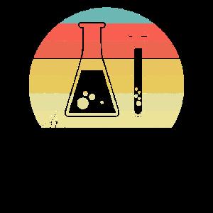 Chemie Geek Reagenzglas Vintage Retro
