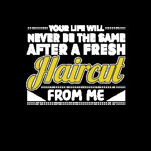 Friseur Haarschnit
