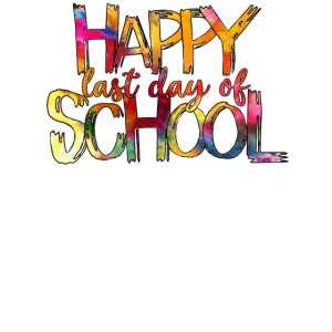 Glücklicher letzter Schultag
